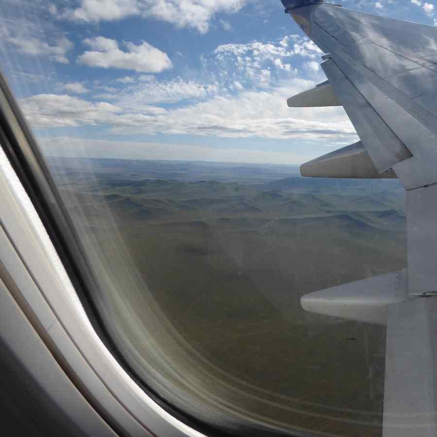 arrive in MONGOLIA